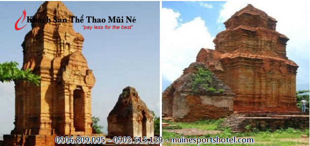 Mui Ne Sports Hotel is very close to Poshanư Cham Tower