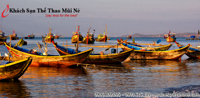 Mui Ne market and fishing harbour are the main destination in Phan Thiet