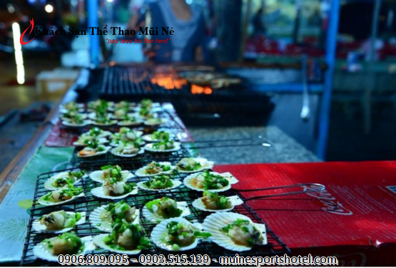 Freely choose your seafood buffet favorites in phan Thiet
