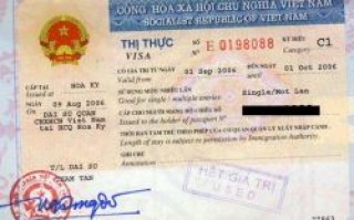 Extension of visas for tourists in Vietnam in Ho Chi Minh City